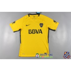 17-18  Boca Yellow Fans Verison thai quality Jersey  (17-18 博卡黄色泰版球衣)