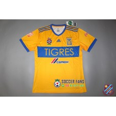 17-18  Tigres Home Fans Version(five stars)1:1 Quality(17-18 老虎主场球迷5颗星1:1 )
