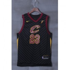 17-18 Cleveland Cavaliers Black Jersey
