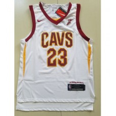 17-18 Cleveland Cavaliers White Jersey