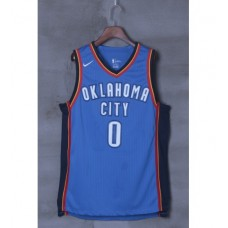 17-18 Oklahoma City Thunder Blue Jersey