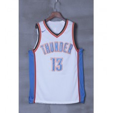 17-18 Oklahoma City Thunder White Jersey
