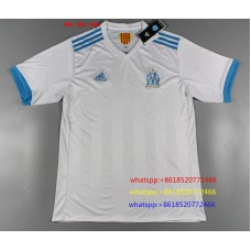 17-18 Marseille Home White Fans Verison Thai Quality (17-18马赛主场白色球迷泰版)