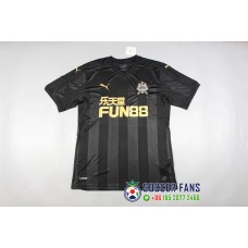 17-18 Newcastle United Away Black fans version , thai quality (17-18 纽卡斯尔联客场黑色球迷泰版)