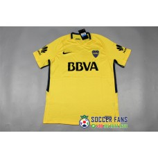 17-18 Boca Away Yellow Fans Version 1:1 Quality (17-18 博卡客场黄色球迷1:1)