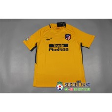 17-18 Atletico Madrid Away Yellow Fans Version 1:1 Quality (17-18 马竞客场黄色球迷1:1)