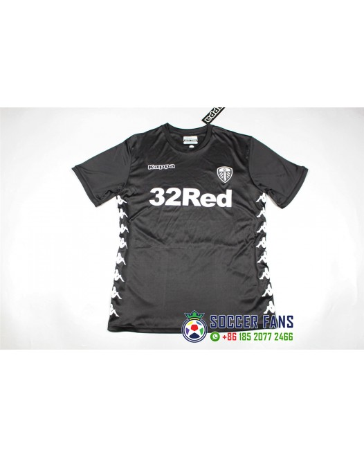 17-18 Leeds United Away Black Fans Version thai quality (17-18利兹联客场黑色球迷泰版)