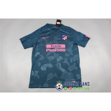17-18 Atletico Madrid Third Blue Fans Verison 1:1 quality (17-18马竞二客蓝色球迷1:1)