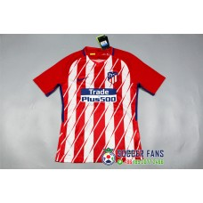 17-18 Atletico Madrid Home Red Player Version 1:1 quality (17-18马竞主场红色球员1:1)