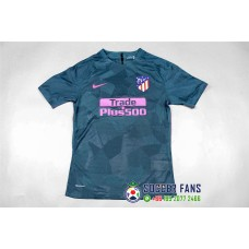 17-18 Atletico Madrid Third Blue Jersey Player Version 1:1 Quality (17-18马竞二客球员1:1)
