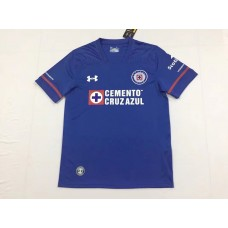 17-18 Cruz Azul Home Blue Fans Verison Thai Quality (17-18蓝十字主场蓝色球迷泰版)