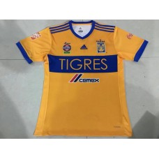 17-18 Tigres Home Yellow Fans Verison thai quality (17-18老虎主场黄色球迷泰版)