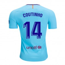 17-18 Barcelona Coutinho 14# Away Fans Verison 1:1 quality (17-18巴塞库蒂尼奥14号客场球迷1:1)