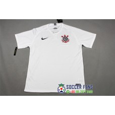 18-19 Corinthians Home White Fans Version 1:1 Quality (18-19科林蒂安斯主场白色球迷1:1)