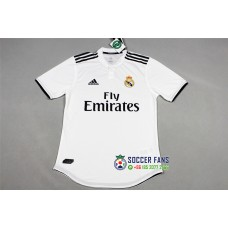 18-19 Real Madrid Home White Player Version 1:1 Quality (18-19皇马主场白色球员1:1)