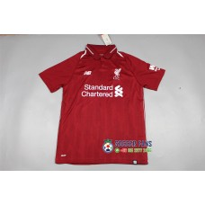 18-19 Liverpool Home Red Fans Verison 1:1 Quality (18-19利物浦主场红色球迷1:1)