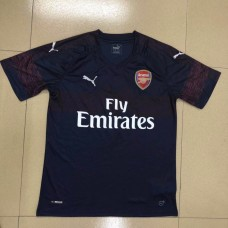 18-19 Arsenal Away Navy Blue Fans Verison Thai Quality (18-19阿森纳客场深蓝色球迷泰版)