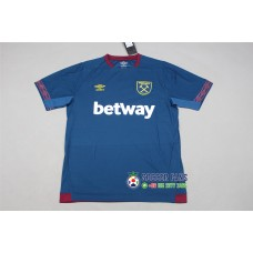 18-19 West Ham Away Blue Fans Verison 1:1 Quality (18-19西汉姆客场蓝色球迷1:1)