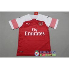 18-19 Arsenal Home Red Fans Verison 1:1 Quality (18-19阿森纳主场红色球迷1:1)