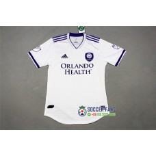18-19 Orlando City White Player Version 1:1 Quality (18-19奥兰多城白色球员1:1)