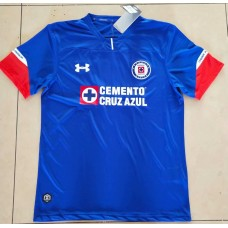 18-19 Cruz Azul Home Blue Fans Verison Thai Quality (18-19蓝十字主场蓝色球迷泰版)