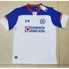 18-19 Cruz Azul Away White Fans Verison Thai Quality (18-19蓝十字客场白色球迷泰版)