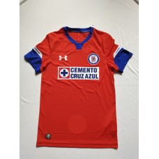 18-19 Cruz Azul Third Red Fans Verison Thai Quality (18-19蓝十字二客红色球迷泰版)