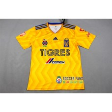 18-19 Tigres Home Yellow Fans Verison Thai Quality (18-19老虎主场黄色球迷泰版)