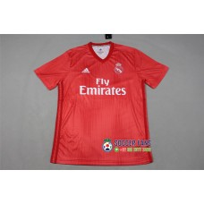 18-19 Real Madrid Third Red Fans Verison 1:1 Quality (18-19皇马二客红色球迷1:1)