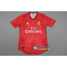 18-19 Real Madrid Third Red Player Version 1:1 Quality (18-19皇马二客红色球员1:1)
