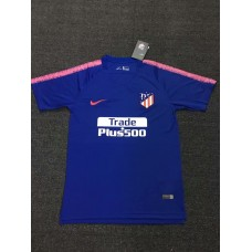 18-19 Atlético Madrid Blue Fans Verison Training T-shirt (18-19马竞蓝色训练T恤)