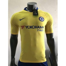 18-19 Chelsea Away Yellow Player Version 1:1 Quality (18-19切尔西客场黄色球员1:1)