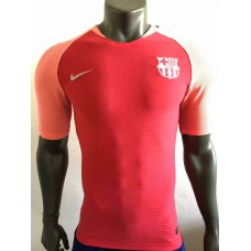 18-19 Barcelona Navy Red Player Version Training T-shirt (18-19巴萨球员训练服T恤)