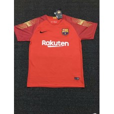 18-19 Barcelona Red Short Sleeve Goal Keeper Jersey (18-19巴塞红色守门服短袖)