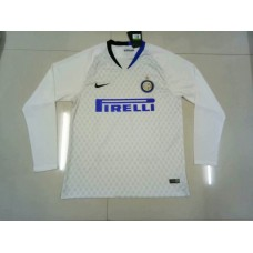 18-19 Inter Milan Away White Long Sleeve (18-19国米客场白色长袖)