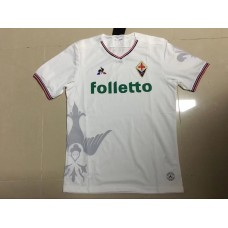 17-18 Fiorentina Away White Jersey Fans Version Thai Quality (17-18佛罗伦萨客场白色球迷泰版)