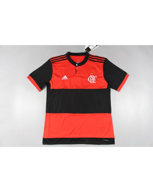 17-18 Improved Flamengo Home Fans Version without Sponsor,Thai quality (17-18 弗拉门戈主场球迷,不带胸前广告版本)
