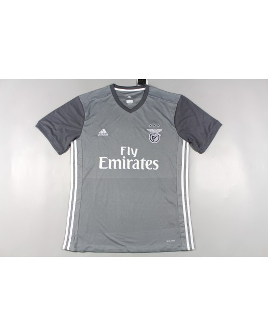 17-18 Benfica Gray Fans Jersey Thai Quality (17-18 本菲卡灰色)