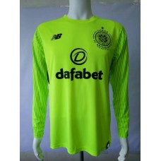 17-18 Celtic Green Long Sleeve Goal Keeper Jersey, Thai Quality (17-18凯尔特守门服长袖)