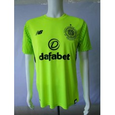 17-18 Celtic Green Short Sleeve Goal Keeper Jersey, Thai Quality (17-18凯尔特守门服短袖)