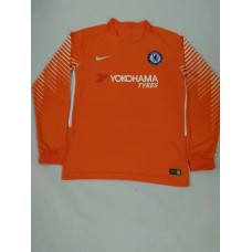 17-18 Chelsea Red Long Sleeve Goalkeeper Jersey (17-18切尔西守门服红色长袖)