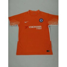 17-18 Chelsea Red Short Sleeve Goalkeeper Jersey (17-18切尔西守门服红色短袖)