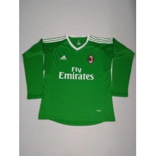 17-18 AC Milan Green Long Sleeve Goal Keeper Jersey (17-18AC米兰守门服绿色长袖)