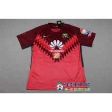 17-18 América Red Short Sleeve Goal Keeper Jersey (17-18美洲守门服红色短袖)