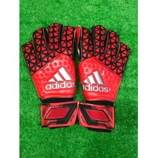 Goalkeeper glove Red 1:1 Quality (守门员手套红色1:1)