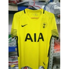 17-18 HOT Yellow Short Sleeve Goal Keeper Jersey (17-18热刺守门员黄色短袖)