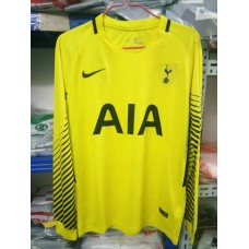 17-18 HOT Yellow Long Sleeve Goal Keeper Jersey (17-18热刺守门员黄色长袖)