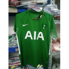 17-18 HOT Green Short Sleeve Goal Keeper Jersey (17-18热刺守门员绿色短袖)