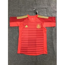 2018 World Cup Mexico Red Short Sleeve Goal Keeper Jersey (2018世界杯墨西哥守门服红色短袖)