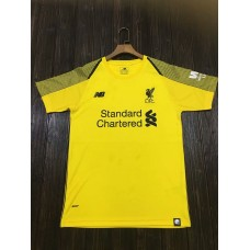 18-19 Liverpool Yellow Short Sleeve Goal Keeper Jersey (18-19利物浦黄色守门服短袖)